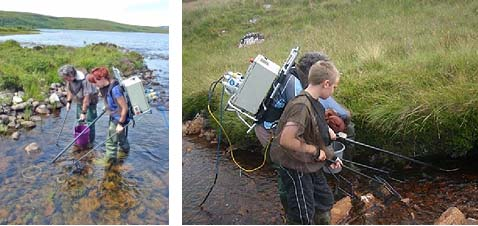 Fishing the Loch Innis and Garvie systems